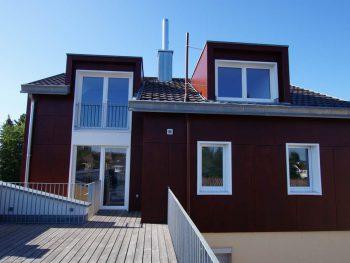 Aufstockung eines Einfamilienhauses - Fassade 2 Architekt Radolfzell | Thomas Köster | Architektur - Baukultur Radolfzell