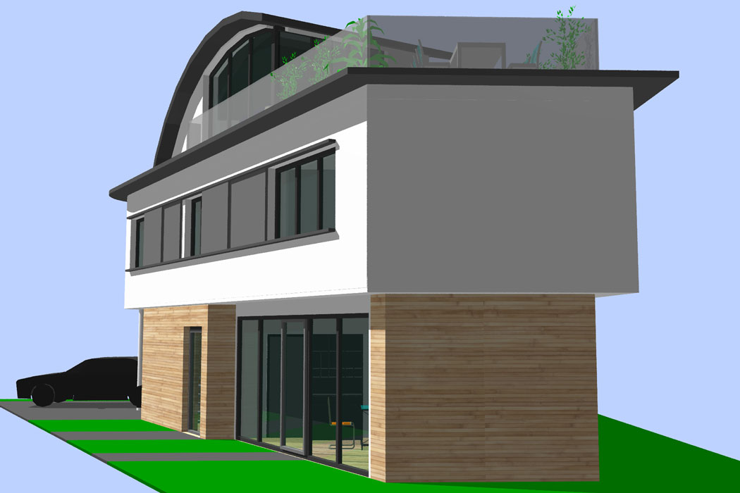 Architekt Radolfzell | Thomas Köster | Architektur - Baukultur Radolfzell Architektur Projektstudie 1